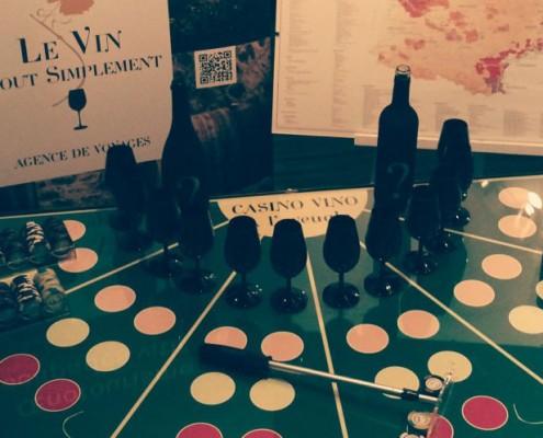 team building et casino des vins