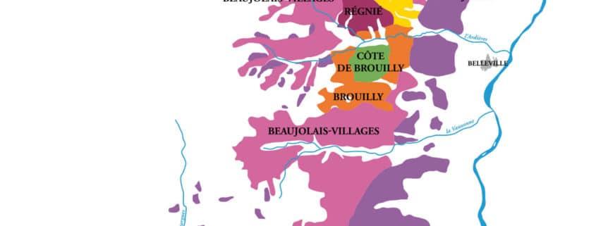 beaujolais superficie vignoble beaujolais nouveau crus