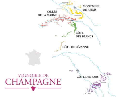 superficie du vignoble champagne appellation