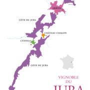 superficie du vignoble jura appellations