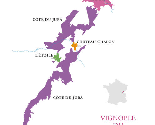 superficie du vignoble jura appellations